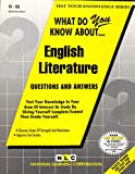 What Do You Know about English Literature?, Jack Rudman, 0837370558
