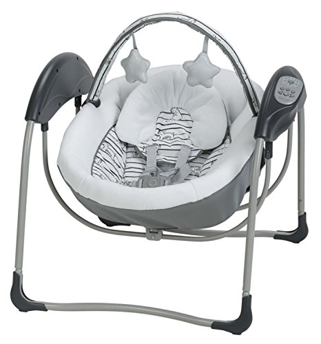 Image of the Graco Glider Lite LX Baby Swing, Ripley