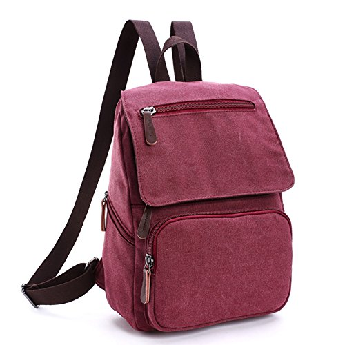Toupons Canvas Backpack School Rucksack product image