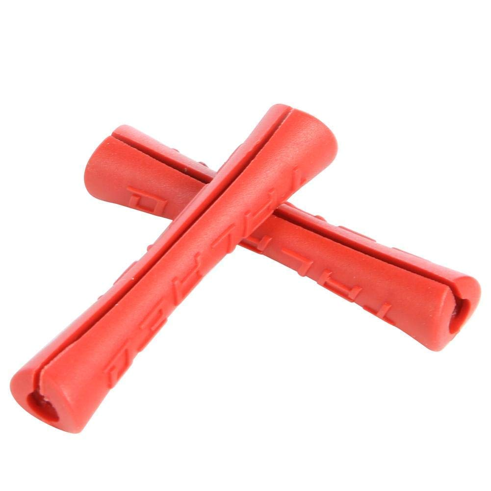 PVC Rundstab rot /Ø 40mm PVC-U Kunststoffstab auf Zuschnitt 100cm L: 1000mm