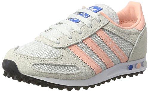 adidas la Trainer, Zapatillas de Running Unisex Niños Blanco (Vintage White/haze Coral/clear Brown)