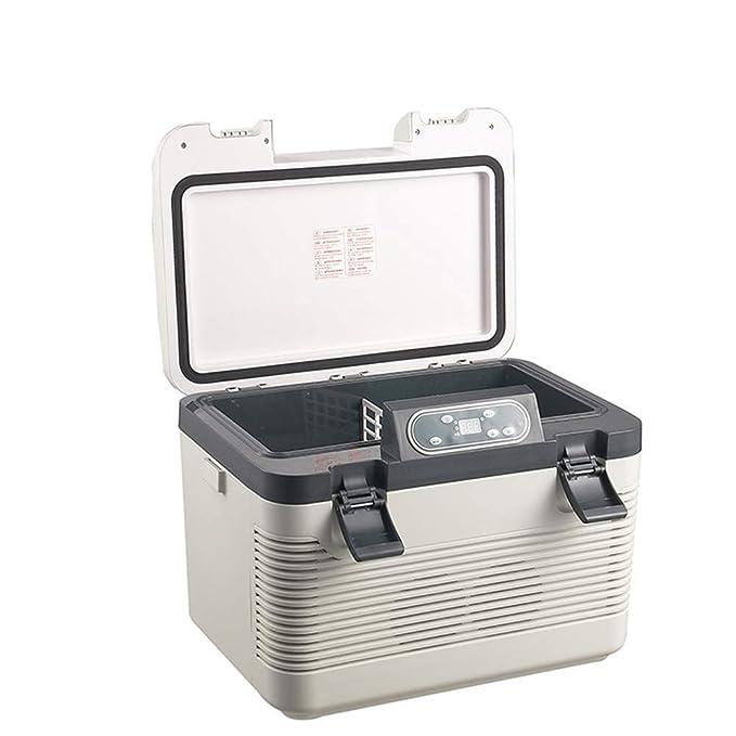 WFDLIU 19L Dual-Core Termoeléctrica Refrigeración Refrigerador ...