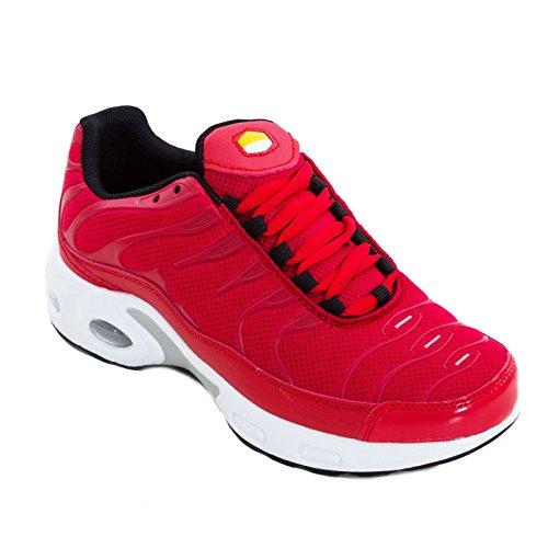 Ginnastica Sport Scarpe K52 Toocool Sportive Rosso Palestra Corsa Sneakers Donna Fitness CrdeBxo