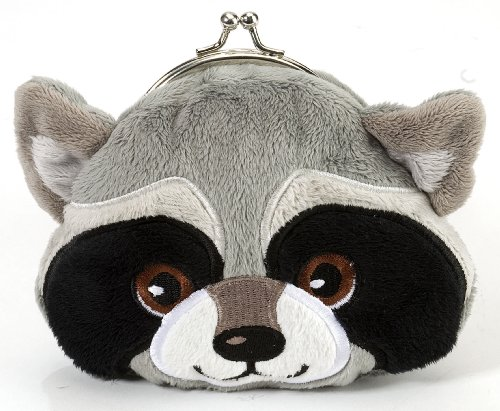 Clasp Purse Raccoon 6