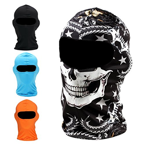 Balaclava Ski Mask Premium Motorcycle Face Mask Outdoor Neck Breathable Tactical Hood