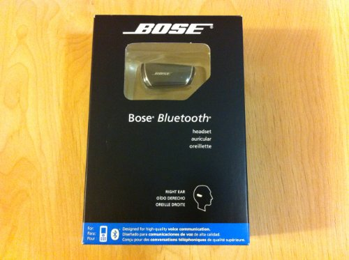 Bose® Bluetooth Headset(Old Version)