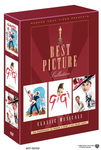 Best Picture Collection - Musicals (An American in Paris/Gigi/My Fair Lady) by Warner Manufacturing