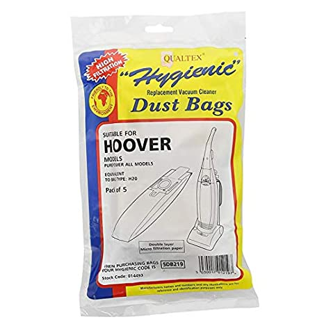 nutwell Qualtex Hygienic Paper Vax Vacuum Bags Pack of 5