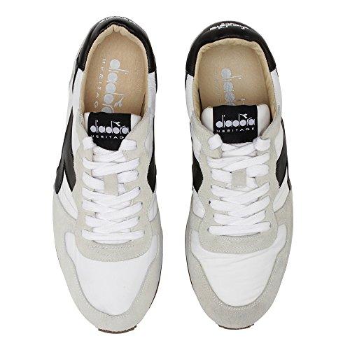 Uomo 172774 MainApps Nero 01 Core Bianco Diadora Camaro C0351 Sneaker SW H 201 TqxX14z