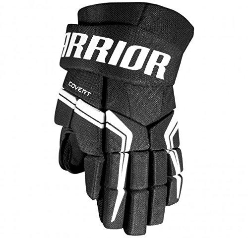 Warrior Sports Covert Qre 5 Junior Hockey Gloves Black - Hockey Gloves Black Junior