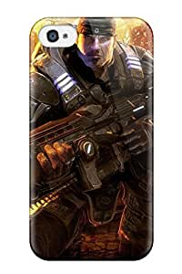 High-quality Durability Case For Iphone 4/4s(gears Of War Hd 1080p)