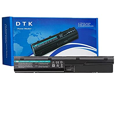 DTK New Laptop Battery Replacement for Hp Probook 4330s 4331s 4430s 4431s 4435s 4530s 4535s 4536s 4440s 4441s 4446s 4540s 4545s Series [6-cell 10.8v 4400mah] Notebook Battery by DTK