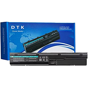 DTK Laptop Battery Replacement Hp Probook 4330s 4331s 4430s 4431s 4435s 4530s 4535s 4536s 4440s 4441s 4446s 4540s 4545s Series [6-Cell 10.8v 4400mah] ...