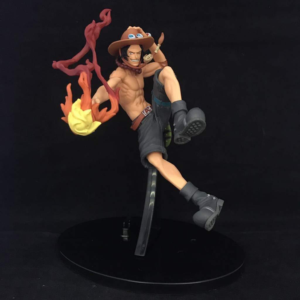 Tienda de moda y compras online. Qivor Estatua de Juguete de una Pieza Modelo de de de Juguete Colección de Personajes de Dibujos Animados Recuerdo Puño de Fuego Ace 18CM  ¡envío gratis!