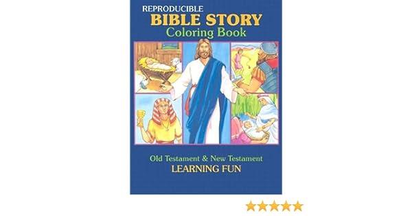 Amazon.com: Bible Story Coloring Book (Reproducible Classroom ...