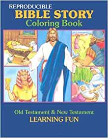 Amazon Bible Story Coloring Book Reproducible Classroom Books Series 9780784701713 Not Available