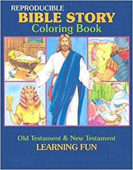 Amazon Bible Story Coloring Book Reproducible Classroom Books Series