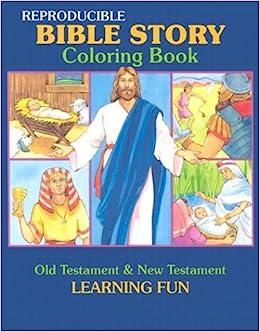 Amazon.com: Bible Story Coloring Book (Reproducible ...