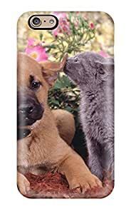 Perfect Cat And Dog Case Cover Skin For Iphone 6 Phone Case