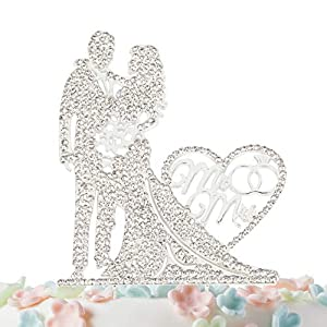 51BNWKCKsfL._SS300_ Beach Wedding Cake Toppers & Nautical Cake Toppers