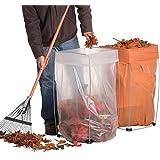 Trash Bag Holder - Multi-Use Bag Buddy Support Stand (30-33 Gallon Bags)