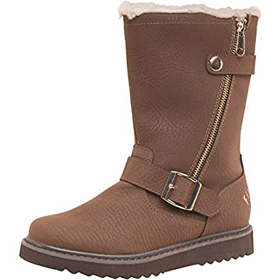 Barnaby Choc Brown/Off White/Gold Firetrap Womens Barnaby Boots Choc - 3 UK