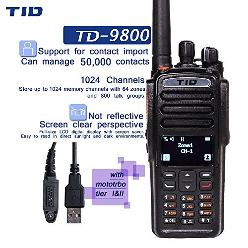 Galleon - TID Industrial DMR Walkie Talkie Compatible With
