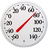 Large Dial Thermometer Round American Made USA