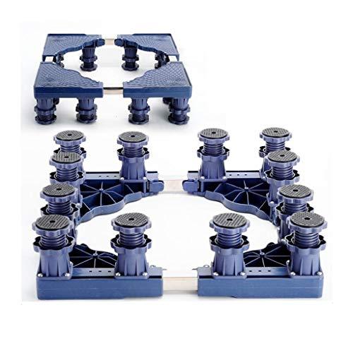 ZJYSM Washing Machine Base Fixed Shockproof Base Moisture-Proof Anti-Corrosion Bracket Mobile Washing Machine Tumble Dryer Cooker Refrigerator Freezer Bracket Base Home Appliance Base (Color : C)