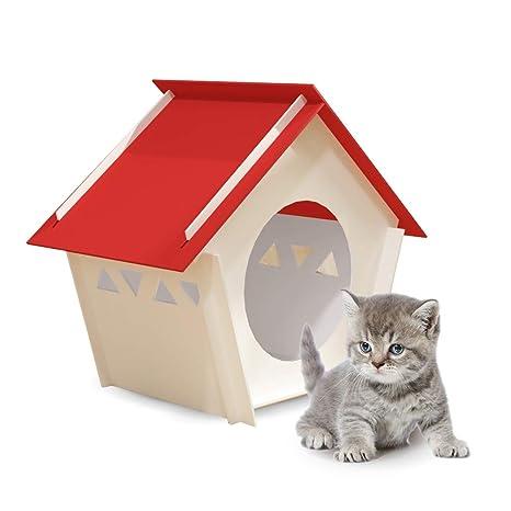 NEKWBO - Caseta para Perros y Gatos extraíble, Resistente a la ...