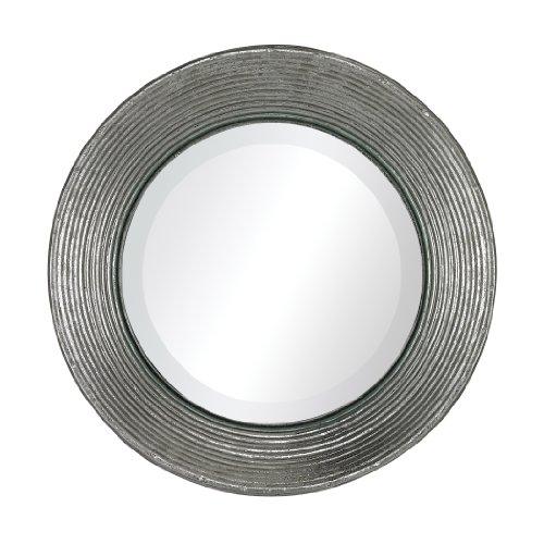 Sterling La Quinta Mini Mirror In Hammered Metal Frame