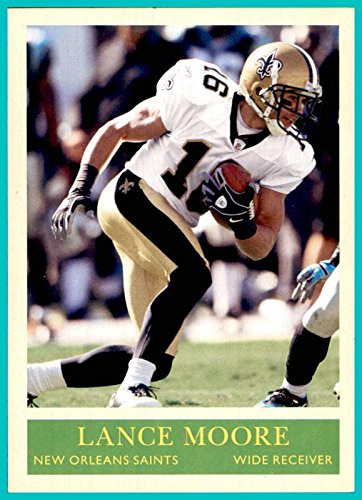 2009 Upper Deck Philadelphia #122 Lance Moore NEW ORLEANS SAINTS TOLEDO