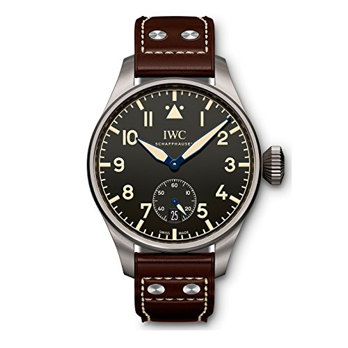NEW Limited Edition IWC Big Pilots Watch Heritage 48 Titanium Automatic 48mm Black Watch IW510301