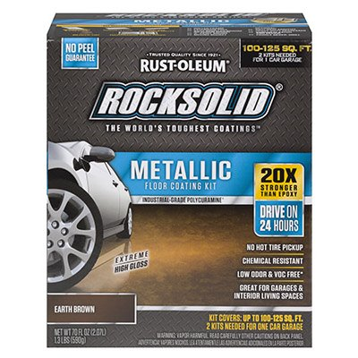 RUST OLEUM 286895 Metallic Garage Metric