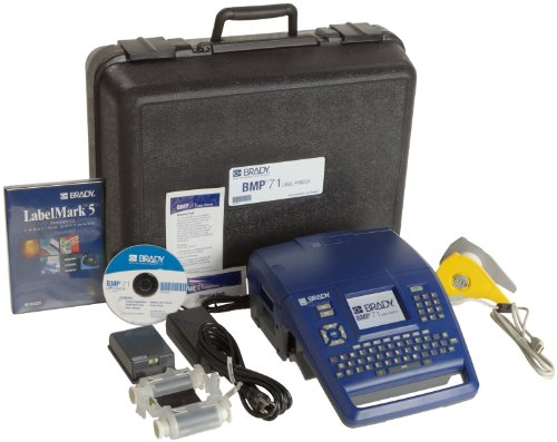 Brady BMP71 Label Printer with LabelMark Software and USB (Brady Bmp71 Label Printer)