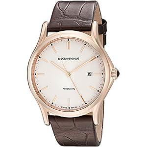 Emporio Armani Reloj para Hombres Fabricado en Suiza ars3012automático Pantalla Swiss Reloj, marrón 12