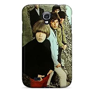 Scratch Protection Hard Phone Cover For Samsung Galaxy S4 (XBU17413nKNo) Allow Personal Design High Resolution Rolling Stones Pattern