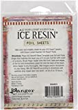 Ranger IRA49975 Ice Resin Foil Sheets