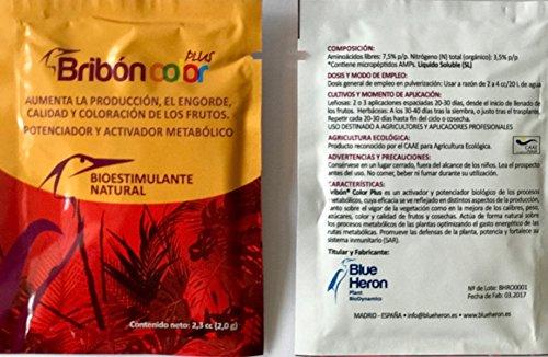 BRIBON® 6 M nano concentrado. Potente Bioestimulante-Abono orgánico-Fertilizante especial. Vigor, color, fortaleza. Belleza en Plantas y Flores de ...