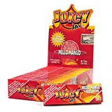 24 Packs (1 Box) Juicy Jay's 1 1/4 Rolling Papers - Mello Mango