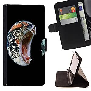 Pattern Queen - Moon Night - FOR Sony Xperia Z1 Compact D5503 - Hard Case Cover Shell