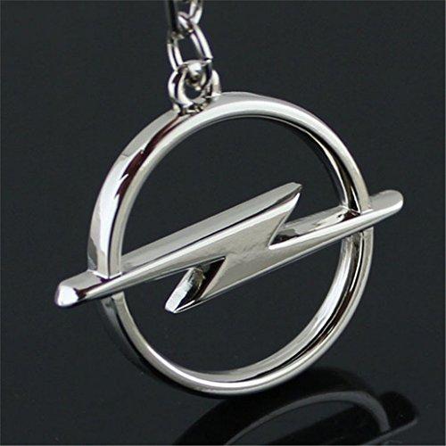 Fashion Metal 3D Car Logo Keychain Key Chain Keyring Key Ring For Opel Auto Pendant Car Accessories