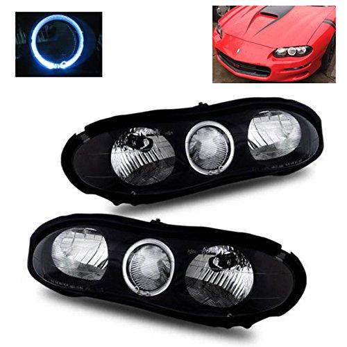 02 camaro black headlights - 7