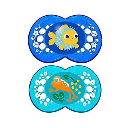 MAM - MAM CHUP ORIGI SILICONA6-16M 2: Amazon.es: Bebé