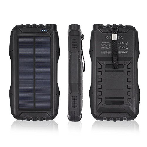 Travel Solar Power Bank - 1