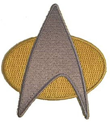 Star Trek Next Generation Starfleet Uniform Cosplay Iron on Patch - Trek Patches Star