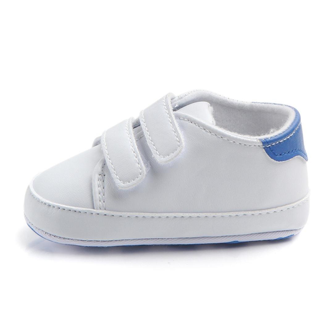 Pour 0-18 mois chaussures de bébé, Amlaiworld Enfant Garçon Fille Semelles douces de berceau Sneaker (11/0-6m, Rouge) Amlaiworld Bébé Chaussures