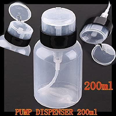 1X 200ml Pump Dispenser Bottle Makeup Tool for Traveling or Home Use J0794-1