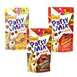 Friskies Party Mix Crunch Variety Pack – Morning Munch, Wild West, Mixed Grill – (3 Pouches) 2.1 Ounch Each