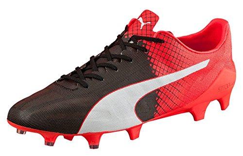 Puma evoSPEED SL II Tricks FG - Zapatillas de fútbol Hombre negro/blanco/rojo